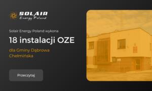 Solair Energy Poland wykona 18 instalacji OZE, w tym pomp ciepła i kolektorów słonecznych